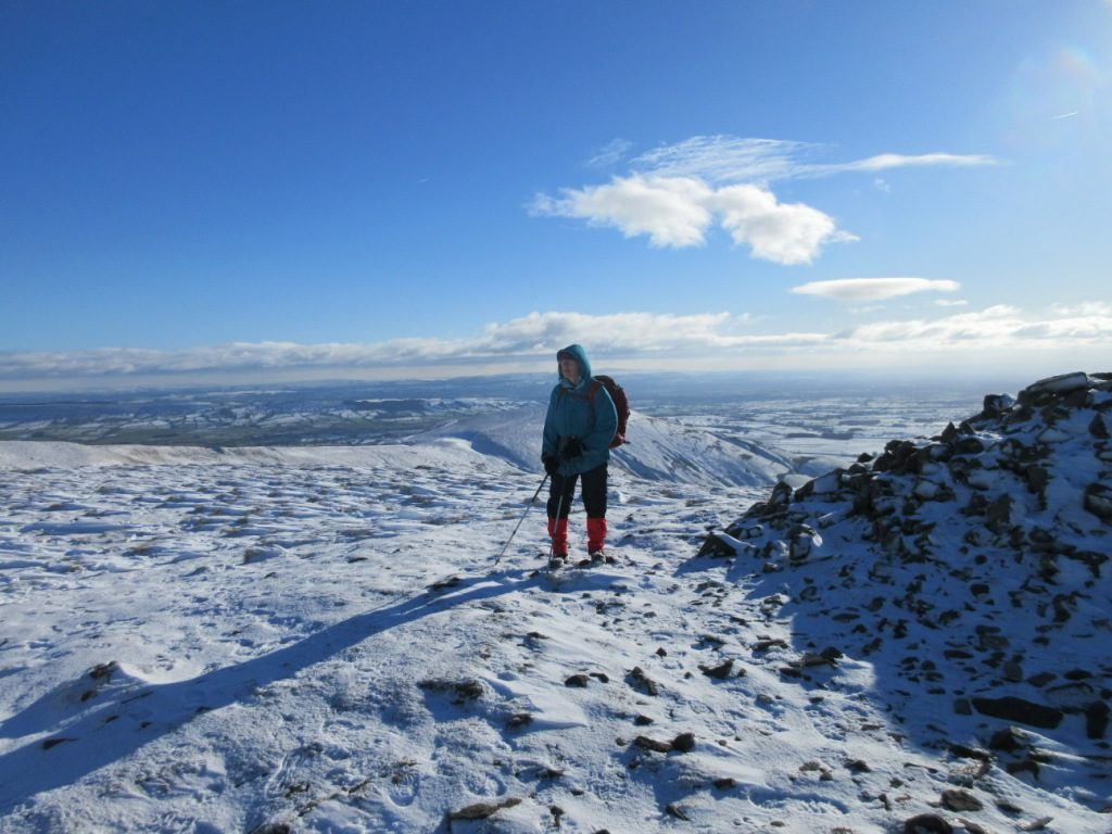 Looking to Parlick from Fair Snape Fell